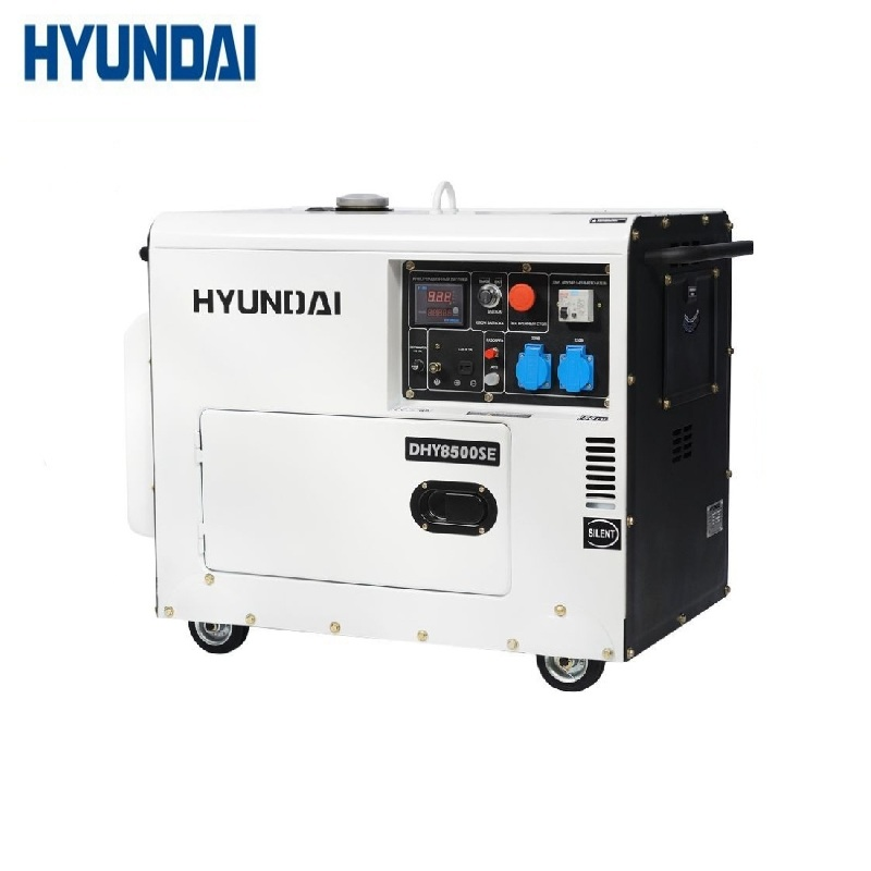 Diesel generator Hyundai DHY8500SE Power home appliances Backup source during power outages stations