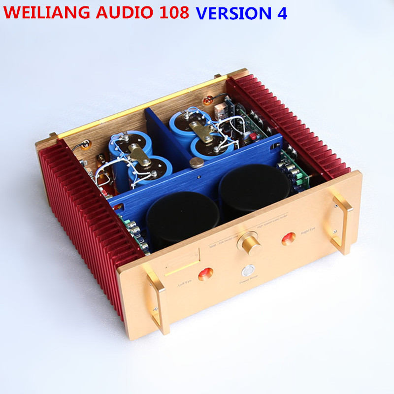 Бриз аудио завод исследование/копирования dartzeel NHB108 усилитель мощности amp 200 Вт * 2 сладкий голос версии 4