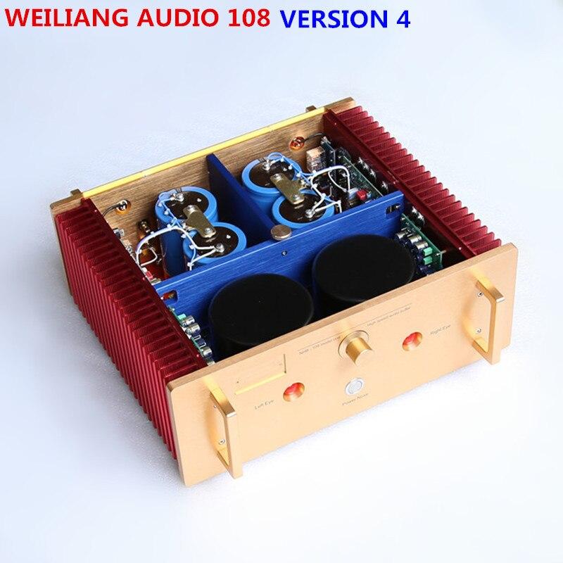 Brise audio Usine Étude/Copie Dartzeel NHB108 puissance amplificateur amp 200 W * 2 voix Douce version 4