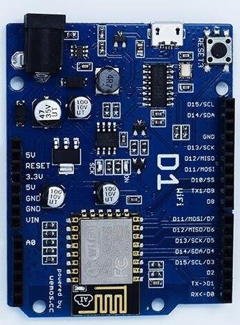 OTA WeMos D1 CH340 CH340G WiFi Development Board ESP8266 ESP-12 ESP-12E  Module For Arduino IDE UNO R3 Micro USB ONE 3 3v 5v 1A