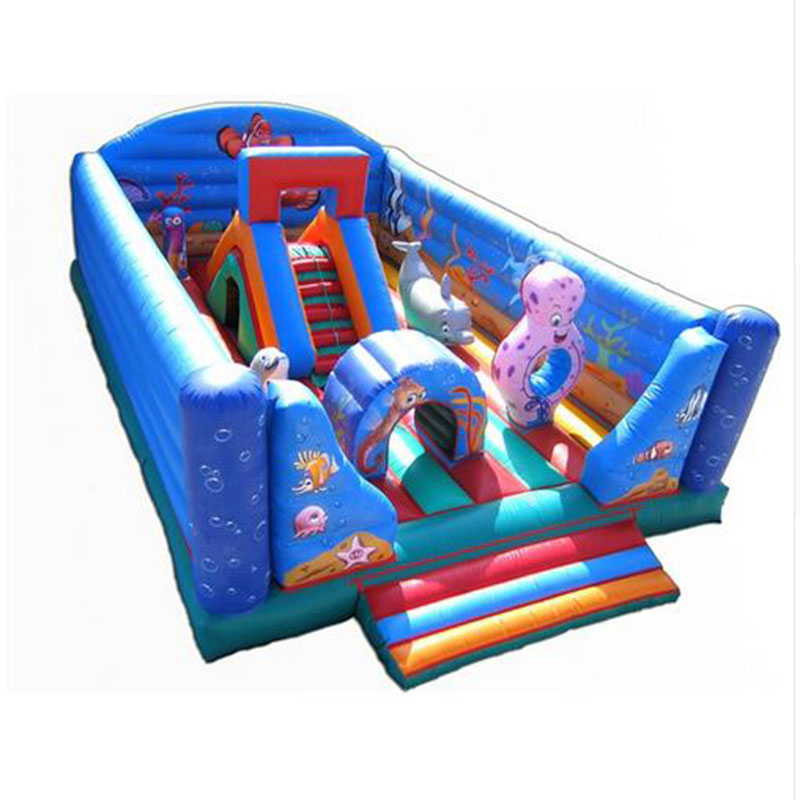 Hot sale inflatable amusement park inflatable circus bouncer inflatable fun city