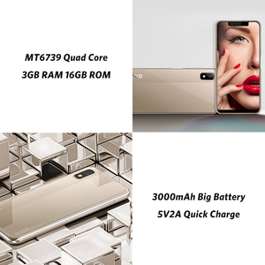 """Image 4 - ELEPHONE A4 3GB 16GB Mobile Phone 8MP Rear Cam Android 8.1 5.85"""" HD+ 18:9 Notch Screen 5MP Face ID MTK6739 Quad Core Cellphone"""