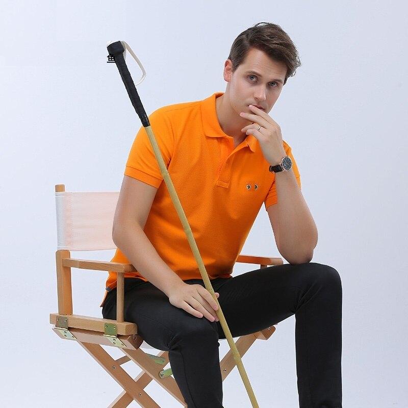 DZYS Hommes de Polo Chemise Élastique Polo Shirt avec Spandex pour Hommes Mâle 3001