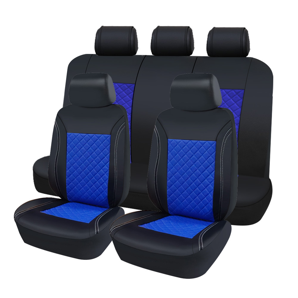 f3ff0d9abdc high quality pu leather car seat covers Universal Fit Car Seat Protectors  fundas asientos para automovil