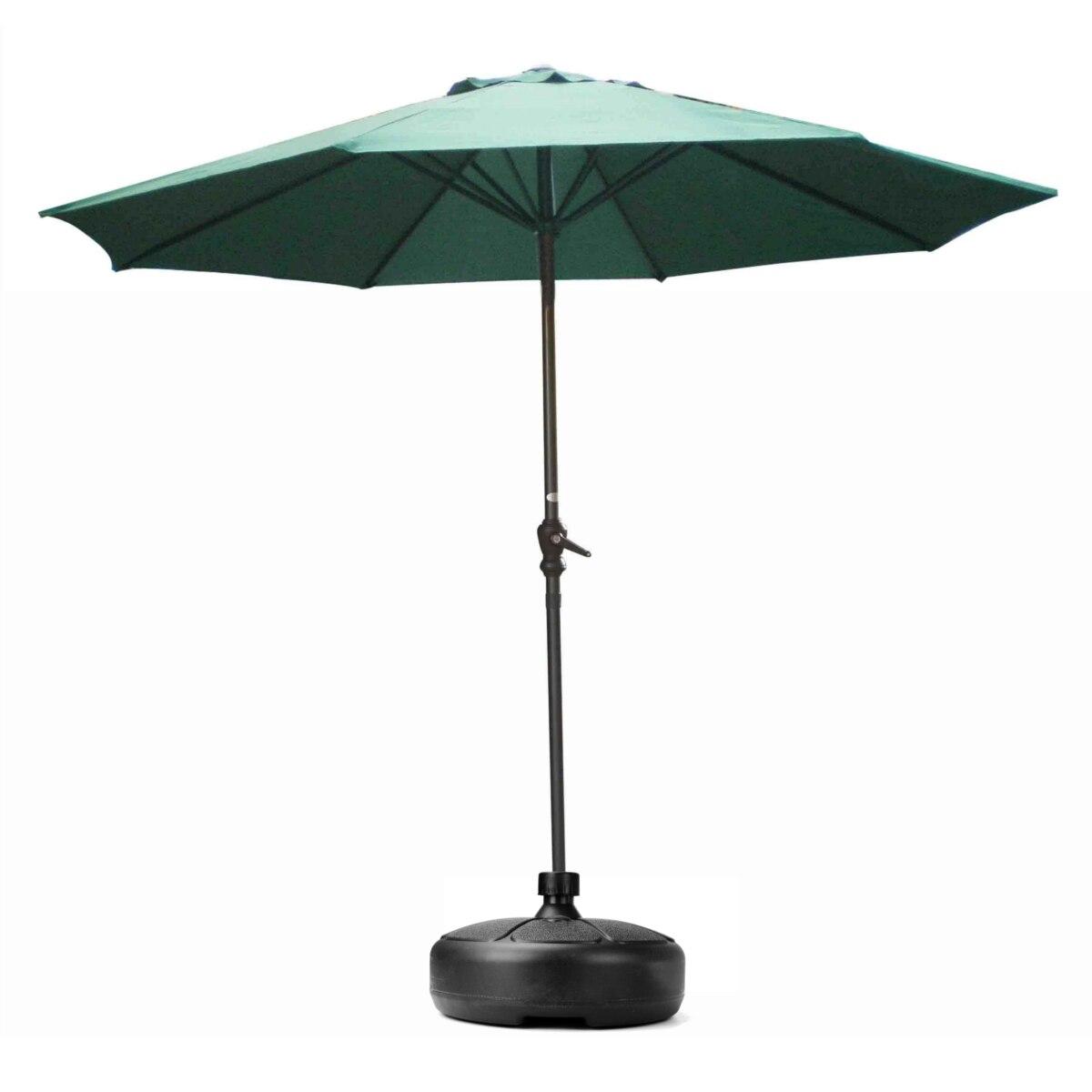 muebles de exterior patio paraguas sombrilla paraguas jardn de pie ronda bases fundacin cartelera titular accesorios
