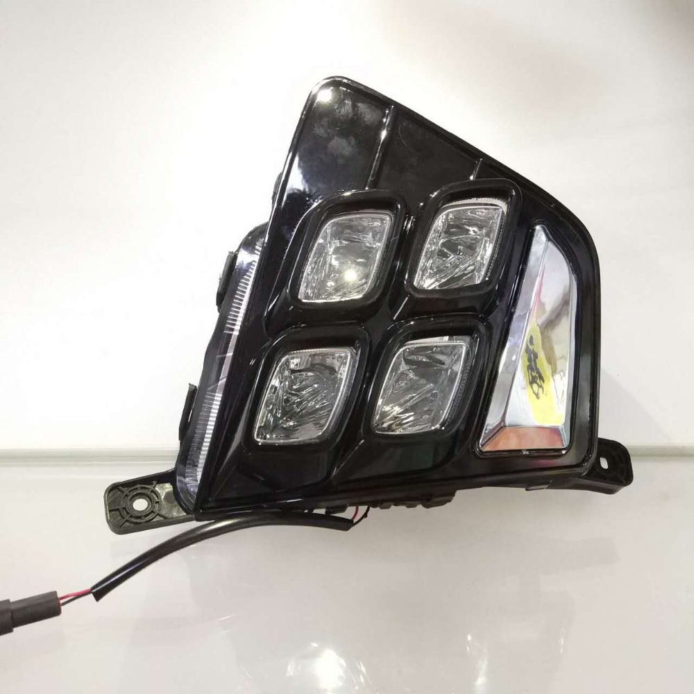 Für Hyundai Creta IX25 2014 2015, relais Wasserdichte ABS Auto DRL 12 v LED Tagfahrlicht Daylight nebel licht