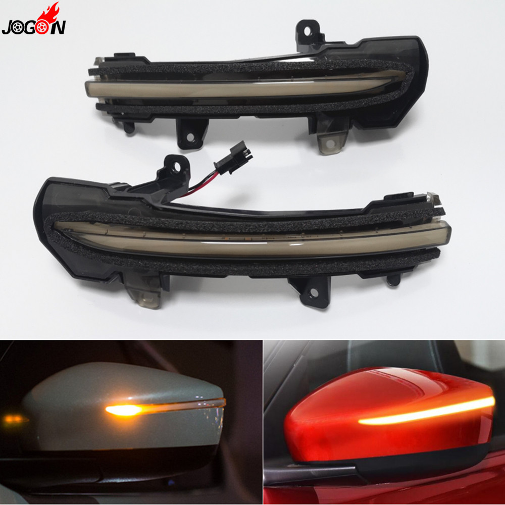 Black LED Side Wing Mirror Indicator Sequential Dynamic Turn Signal Light Lamp For Nissan Kicks P15