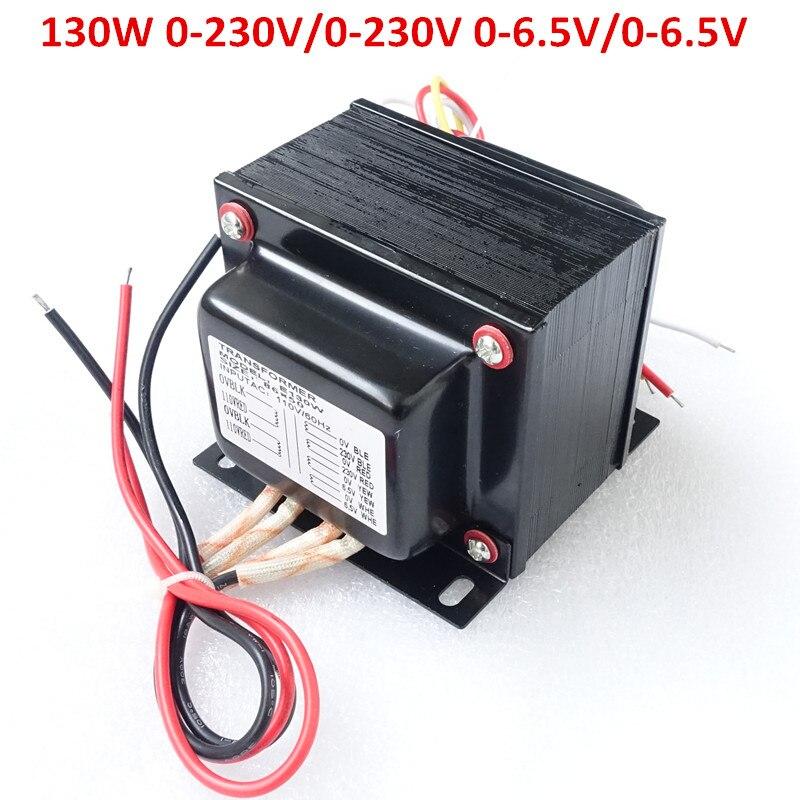 Breeze Audio vacuum tube power amplifier 130W E transformer 110V*2 INPUT 0-230VX2 0-6.5VX2 OUTPUT