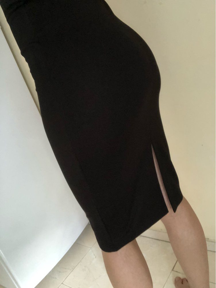Basic Vest Dress Women Back Split Dress Summer New Fashion Sleeveless Vest Tanks Slim Bodycon Strap Party Dresses photo review