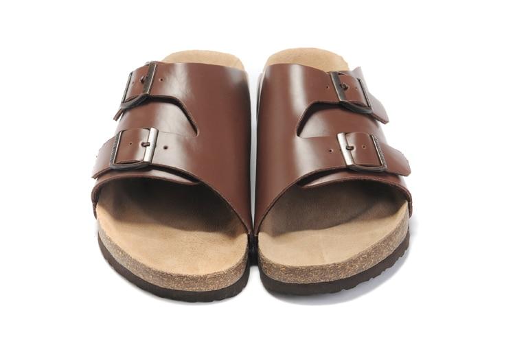 2018 New Arrival BIRKENSTOCK 유니섹스 여름용 플랫 슈즈 - 남성용 신발 - 사진 3