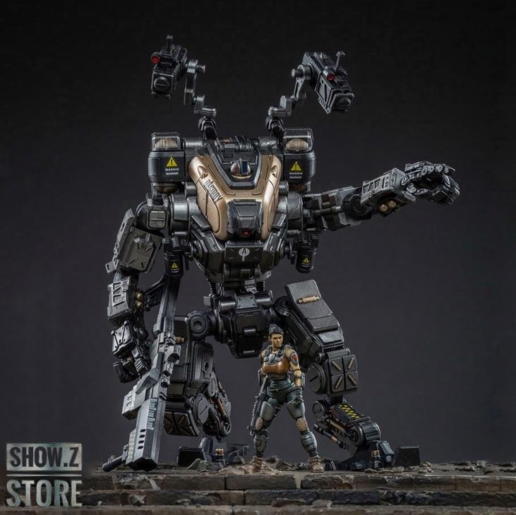 [Show.Z Store] JoyToy Source Acid Rain 1/25 God Of War 86 Medium-Sized Mecha Figure Set Silver Black Version Action Figure