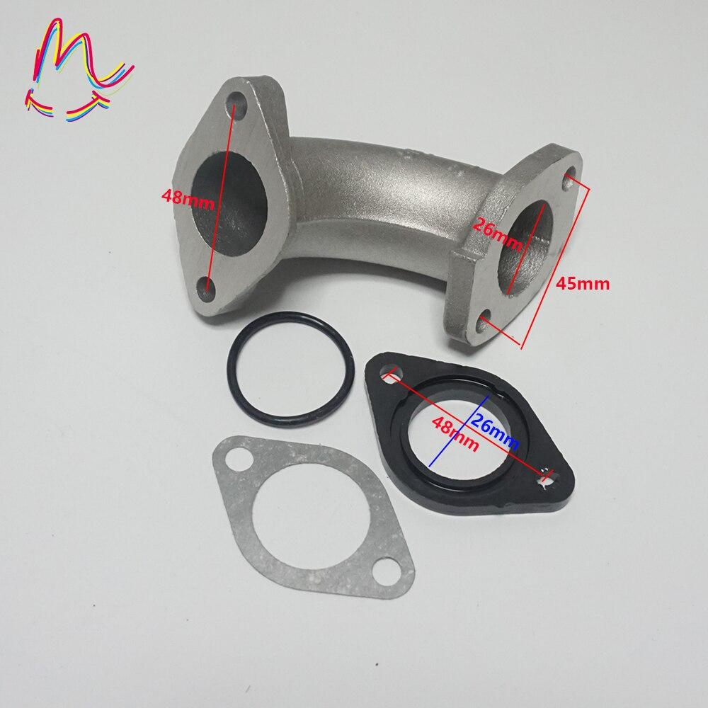 26mm Intake Manifold Inlet Gasket For 80cc 110cc 125cc Pit Dirt Quad Bike