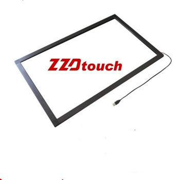 ZZDtouch 43 cal dotykowy IR ramki 10 20 punkty usb ekran dotykowy na podczerwień panel dotykowy ekran dotykowy nakładka na monitora pc