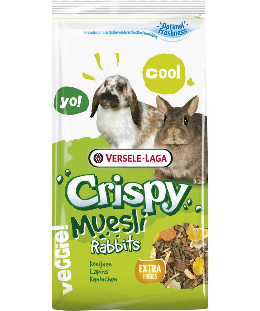 Rodent food VERSELE-LAGA rabbit feed Crispy Muesli Rabbits 2.75 kg корм versele laga crispy muesli rabbits для кроликов 1 кг