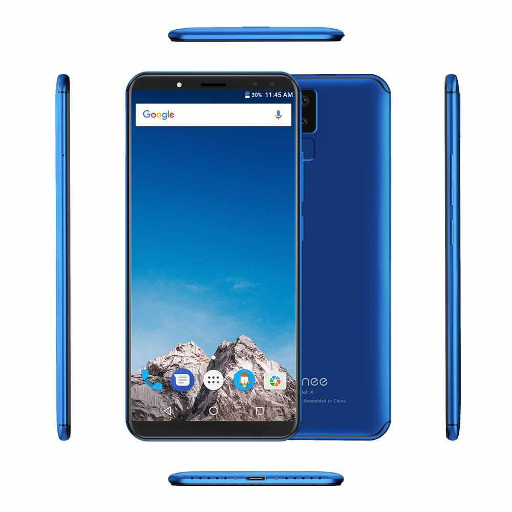 "Vernee X 4G teléfono móvil cara de Helio P23 Octa Core 6,0 ""Pantalla 18:9 6200 mAh 4 GB + 64 GB trasero 16MP + 5MP frontal 13MP + 5MP Smartphone"