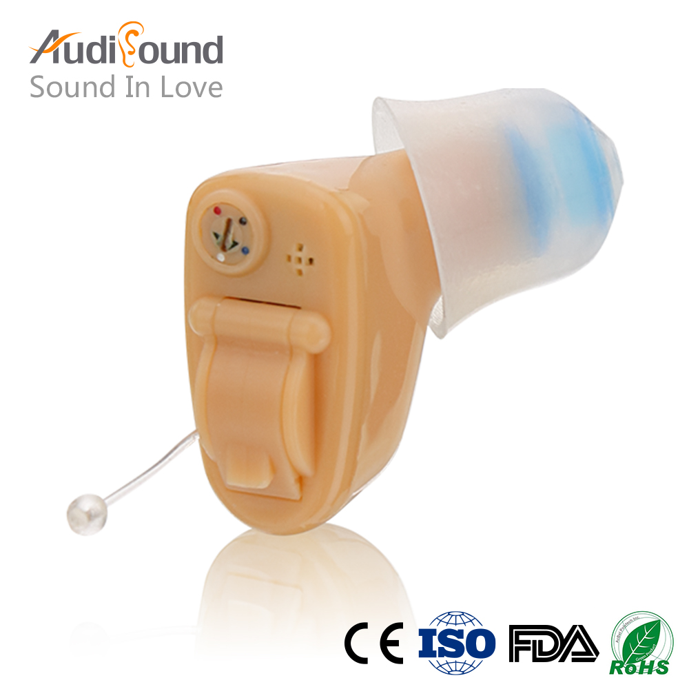 Mini Hearing Aid Personal Sound Amplifier In Ear Volume Adjustable Audifonos Para Sordos Hear Clear for the Elderly