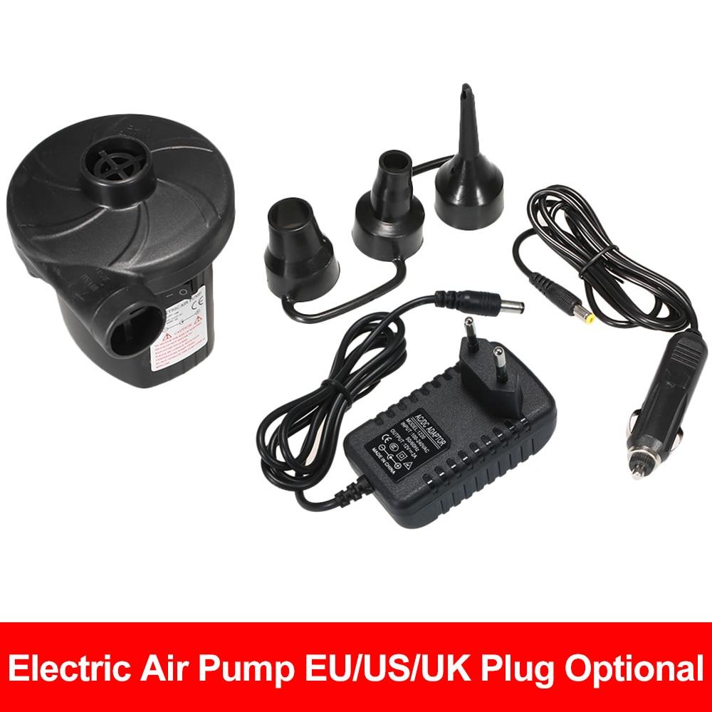 Inflatable Pump Electric Air Mattress Camping Pump Car Air Compressor Pump Portable Quick Filling Air Pump For Car Home Use(China)