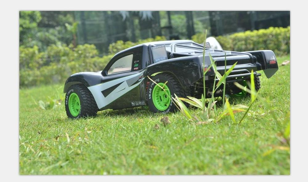 Oyuncaklar ve Hobi Ürünleri'ten RC Arabalar'de VKAR YARıŞ 61301 VKAR SCTX10 PRO 1:10 1/10 4WD off road Yüksek Hız yükseltme Şap Kısa Ders Kamy'da  Grup 1