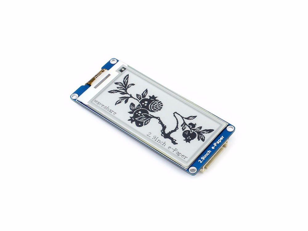 Image 3 - 2.9inch E Ink Display Screen 296x128 E Paper Module SPI Support Partial Refresh Ultra Low Power Consumption Wide Viewing Angle-in Demo Board from Computer & Office
