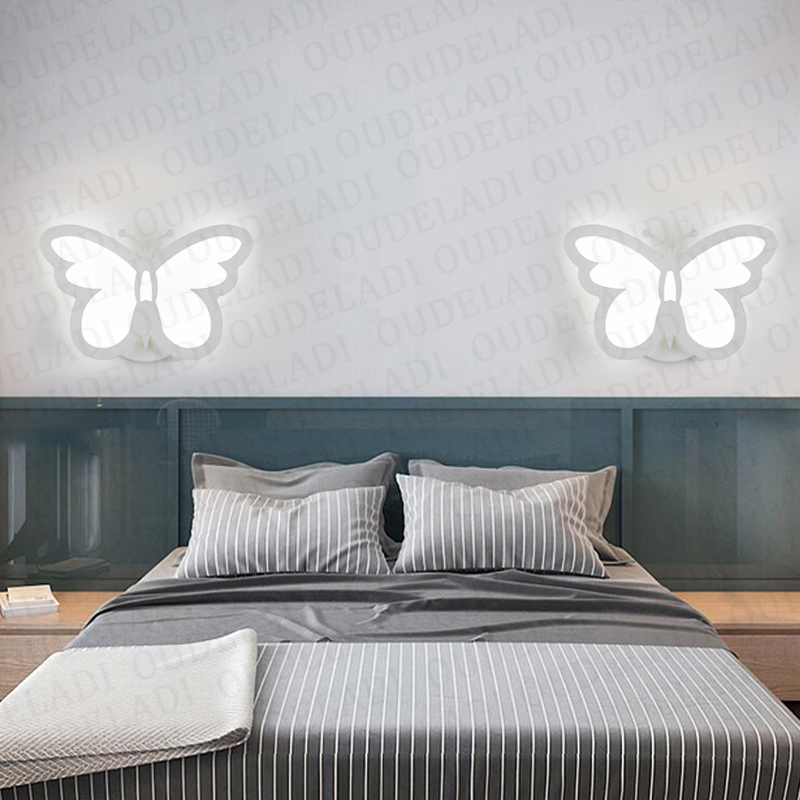 12W LED Acrylic wall light Children's room bedside bedroom wall lamps arts creative Corridor Aisle Sconce Decor AC85-265V 4