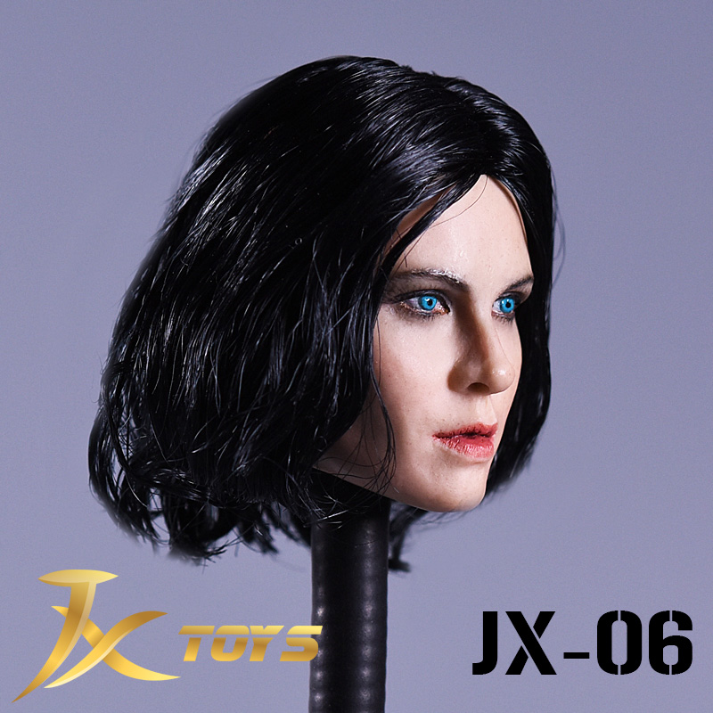 JXtoys 06 1 6 Underworld Selena Katee Beckinsale Head Sculpt Caving for 12inch Phicen Verycool Jiaoudoll Action Figure DIY in Action Toy Figures from Toys Hobbies
