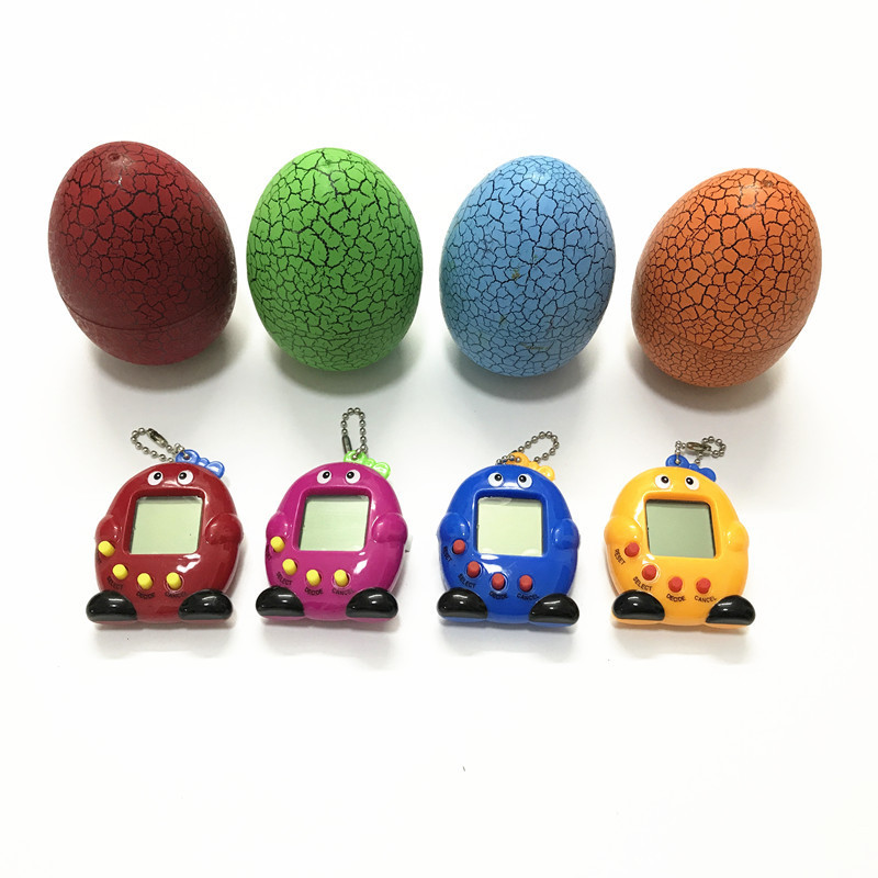 Multi Colors Animal Egg Virtual Cyber Digital Pet Game Toy Electronic E-Pet Christmas Gift