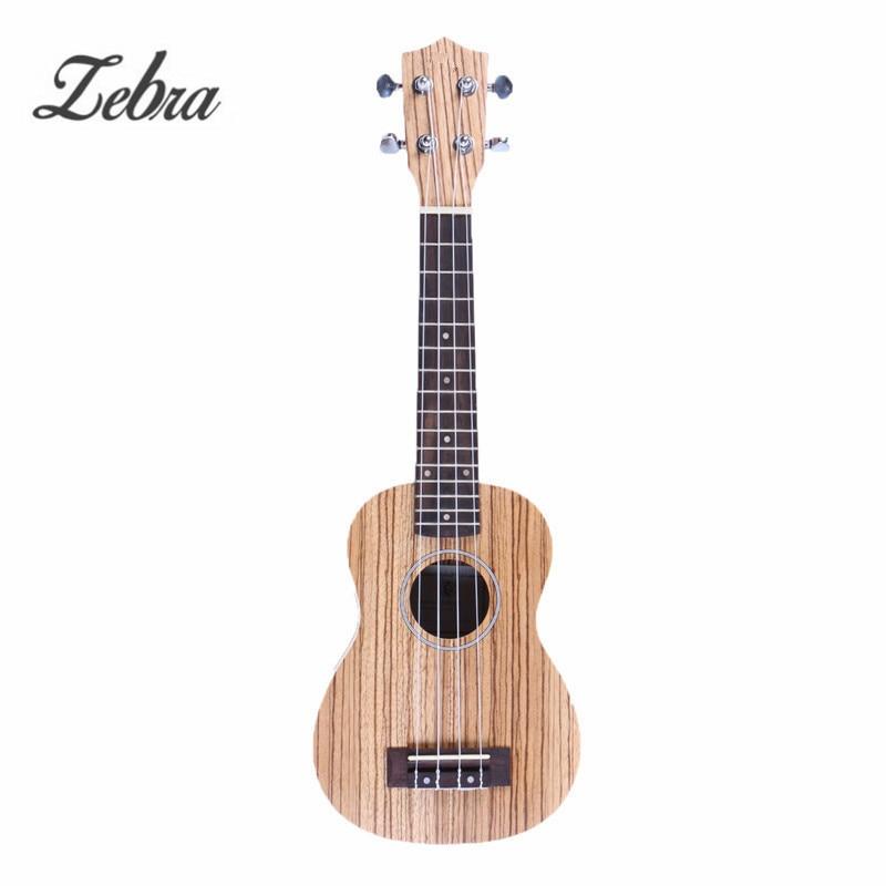 Zebra 21 4 Strings Concert Ukulele Ukelele Electric Guitar Guitarra For Musical Stringed Instruments Lovers