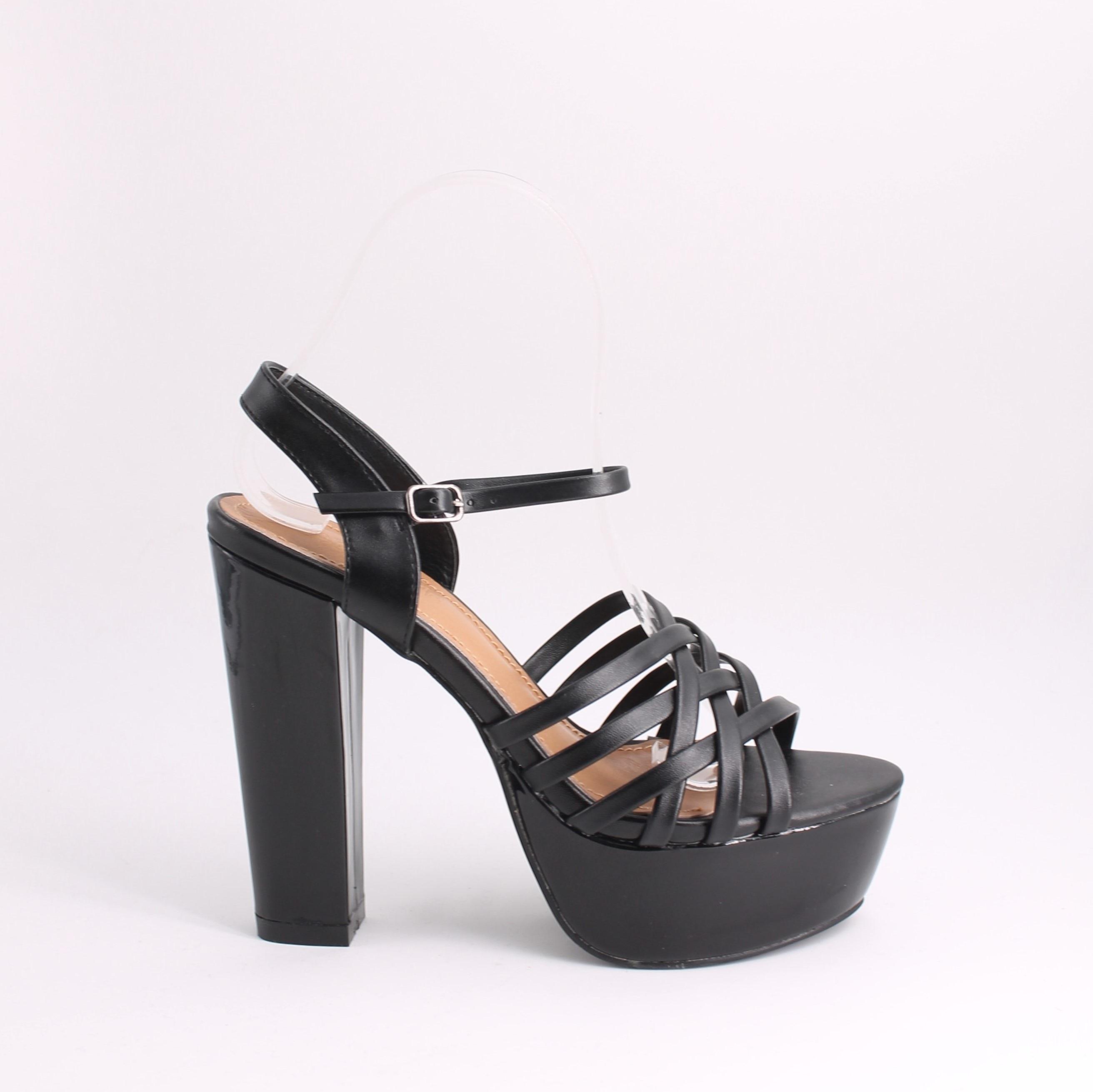 Sandals Women 2019 Summer Sandals For Women Shoes Woman Platform Sandals Women Elegant Fat Heels 35-41