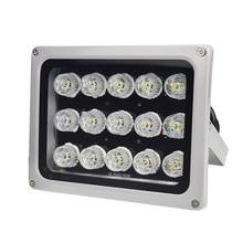 15Pcs White CCTV Fill Illuminator Led Light DC 12V 850nm High Power Night Vision Lights for Surveillance Security System все цены