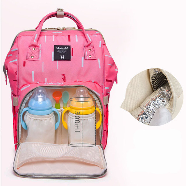30cfcc7f65c9 Brand Baby Diaper Bag Mummy Maternity Nappy Bag Large Capacity Unicorn  Backpack Nursing Bag Stroller Bag mochila maternidade