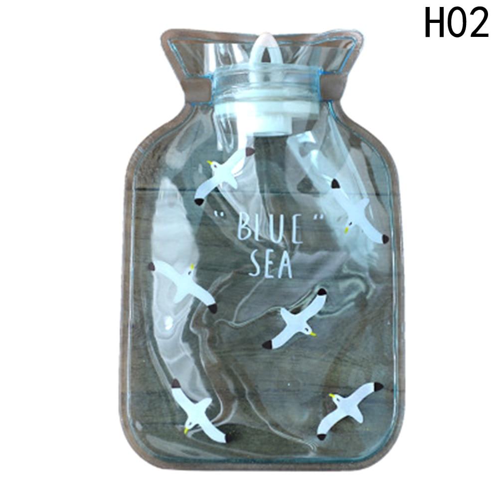 1Pcs New Hot Water Bottle Hand Warmer Bag Cute Cartoon Animals Girls Pocket Hand Warm Hot Water Filling Water Bag Bottle