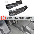 Защитная пластина крышка внутреннего туннеля для Lada Granta 2012-2019 аксессуары для отделки защита украшения ковров автомобильный Стайлинг