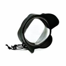 Meikon Fisheye Широкий формат мокрый исправительных объектив купольная Порты и разъёмы (площадь адаптер) для NEX 5R/5 т NEX6 NEX7 (18-55), Переходники объективов