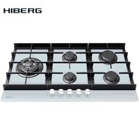 Built in Hob gas HIBERG VM 9055 W Home Appliances Major Appliances gas cooking Surface hob cookers cooking gas panel