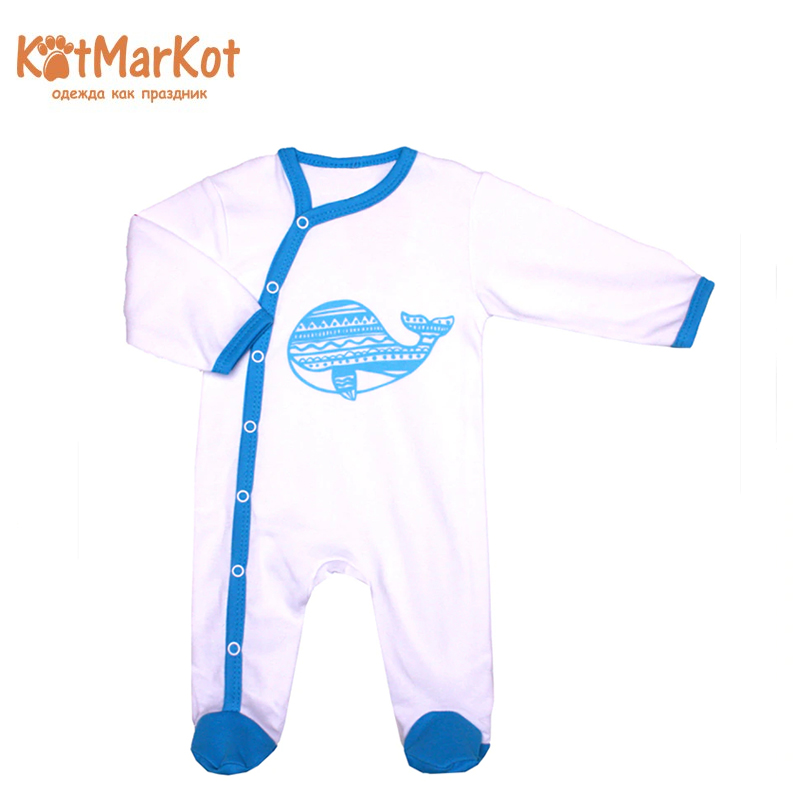 Jumpsuit Kotmarkot 6356 children clothing cotton for baby boys kid clothes hzirip baby romper new autumn winter warm lovely cartoon cotton thick baby girls boys jumpsuit fashion newborn clothes 5colors