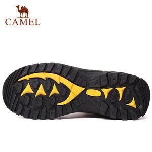 Image 4 - CAMEL, Zapatos altos de senderismo para mujer, zapatos duraderos antideslizantes cálidos para escalar al aire libre, zapatos de Trekking, botas tácticas militares