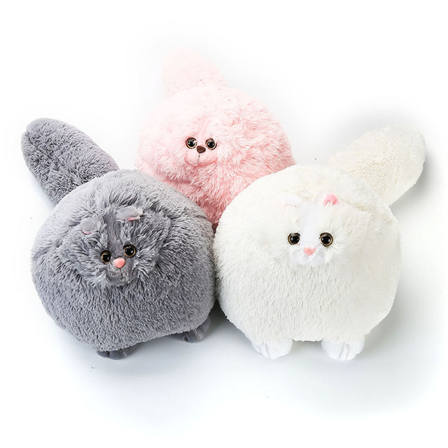Hot Sale Fat Fluffy Cats Persian Cat Plush Toy Kids Toys Soft