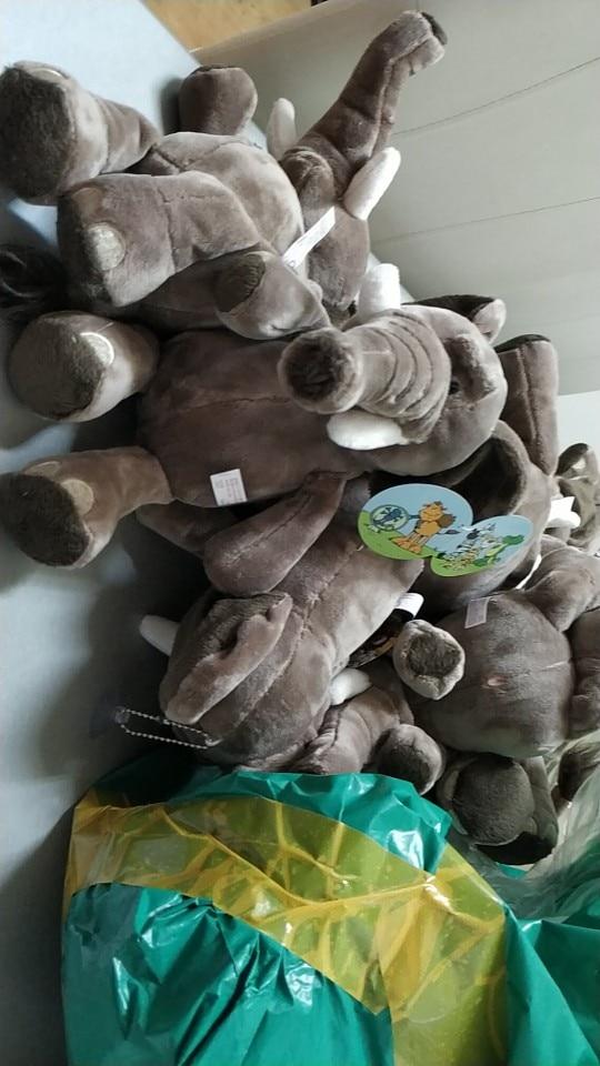 Elephant Stuffed Toy - Hellopenguins
