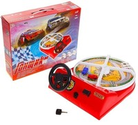 portable game street racing educational toy for children study racing table game made in Russia