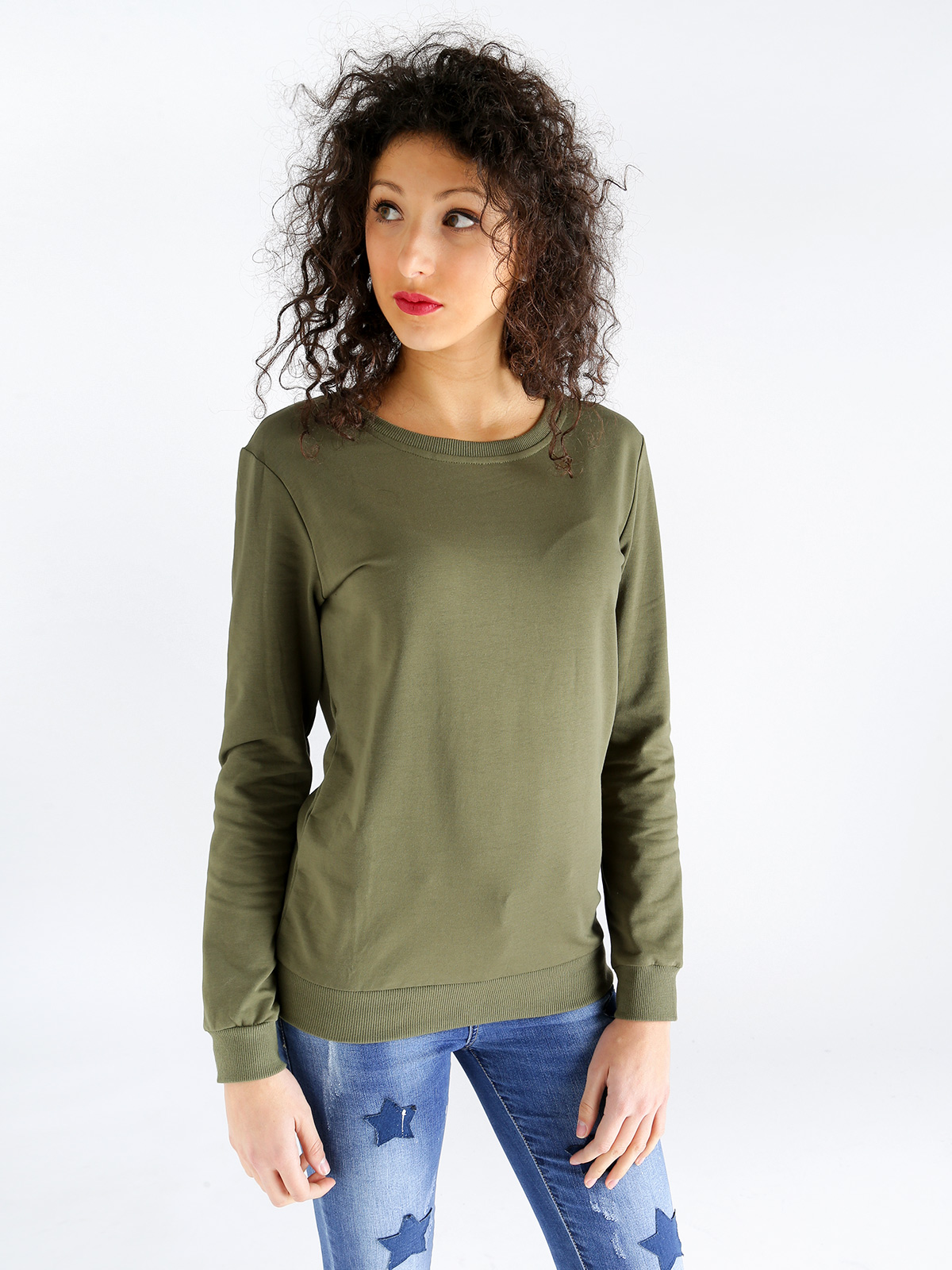 Sweatshirt Without Hood