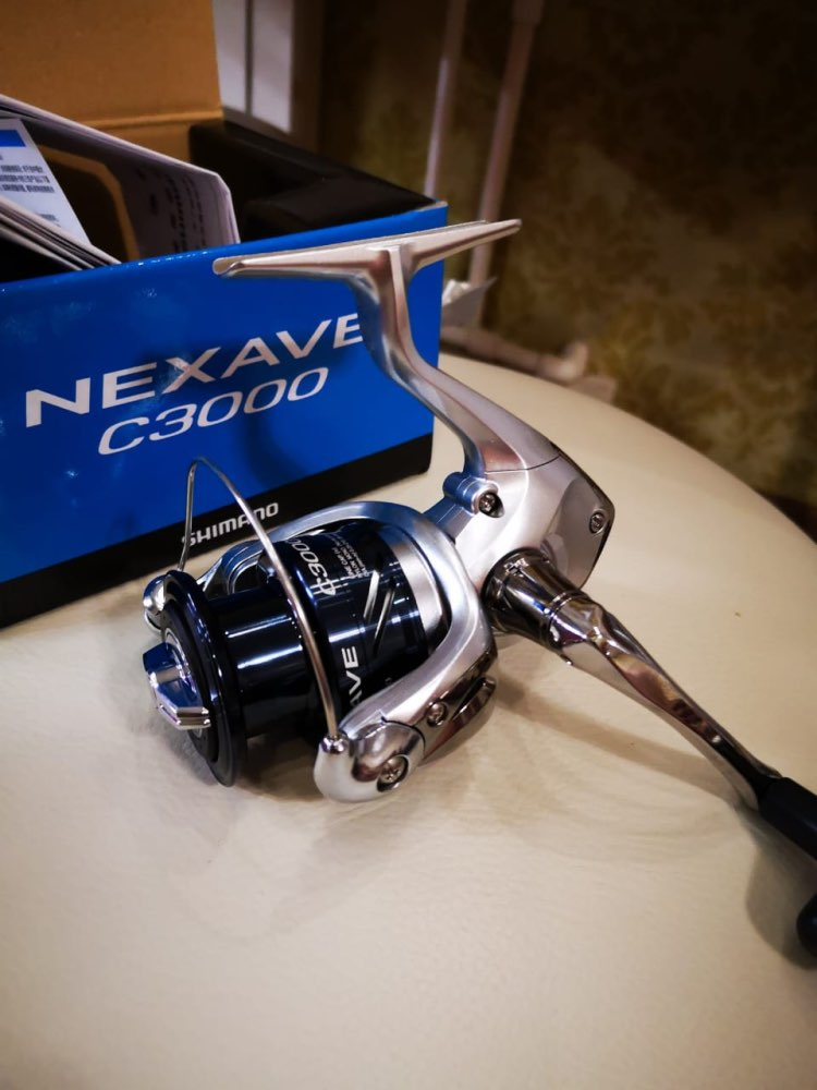 2018 New Arrival Original SHIMANO NEXAVE 1000 2500 C3000HG 4000 5000HG Low Gear Ratio Front Drag 4BB Saltwater Carp Fishing Reel