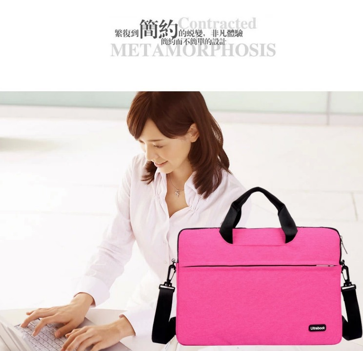 For Laptop bag11 12 13 15 Inch Notebook Big Capacity Handbag Shoulder Sling Bag Briefcase
