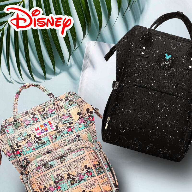 Disney Mickey Minnie Best Diaper Bag Baby Bag Backpack Mummy Maternity Care  Large Capacity Nappy Bag Bottle Warmer Insulation-in Diaper Bags from Mother  ... f1bd8bbf65f2