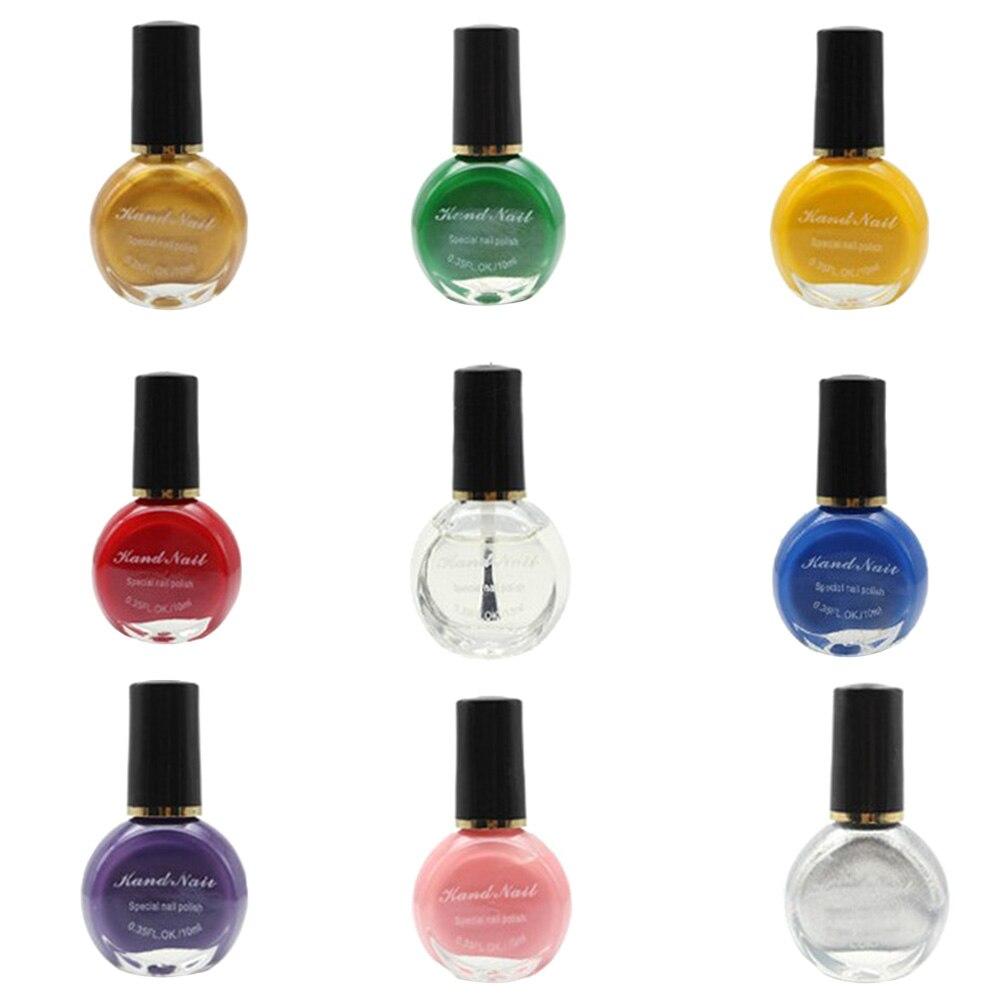 Nail Polish Style: New 10ml 26 Colors Printing Nail Polish Nail Art Stamping