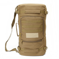 Top 50L Sport Bags Molle Large Capacity Men Travel Bag Outdoor Mountaineering Backpack Camping Hiking Rucksack