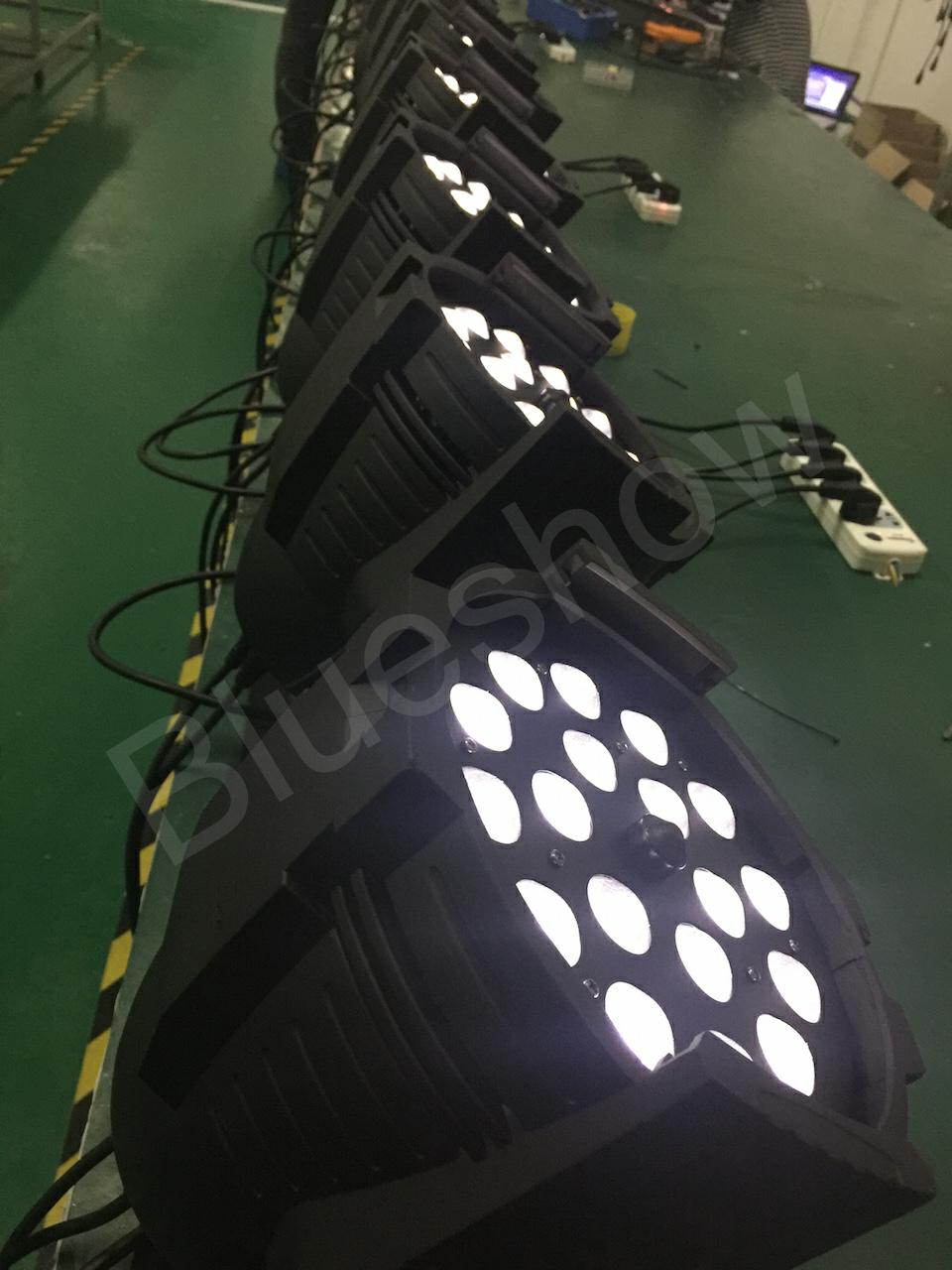 zoom led par light rgbwauv 6in1 18x15w