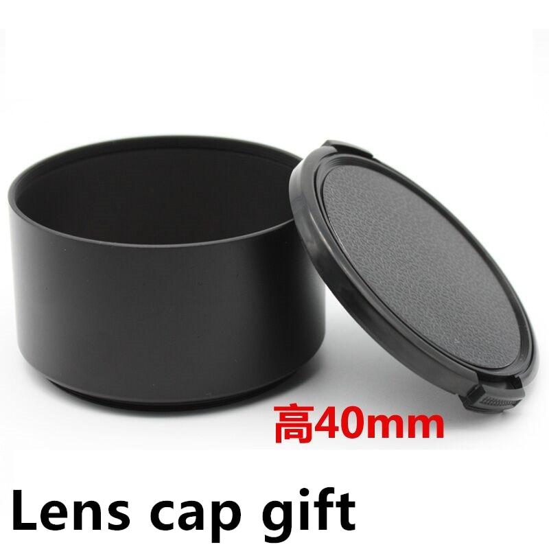 49 52 55 58 62 67 72 77mm long Metal LENS HOOD for C N S S F 49 52 55 58 62 67 72 77mm lens free shipping