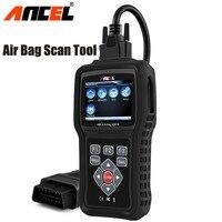 OBD2 Car Diagnostics Automotriz Airbag Diagnostic Tool OBD Air bag Crash Data Reset OBD2 Code Reader Ancel AD610 OBD2 Scanner