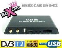 M688 4 антенна автомобильная DVB T2 ТВ приемник Скорость до 180 км/ч Full HD 1080 P 4 чип мобильности цифровой автомобиль ТВ спутниковый тюнер