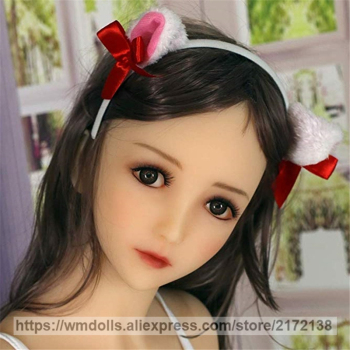 WMDOLL Oral Sex Doll Head for Japanese Sex Doll Realistic Cute Girl Silicone Love doll heads